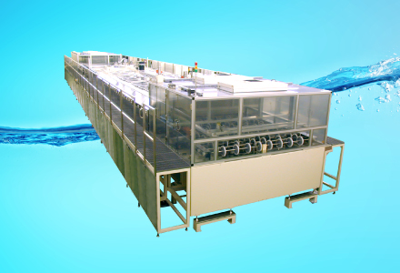 水と空気と超音波による洗浄を極めたS-Tecの技術
